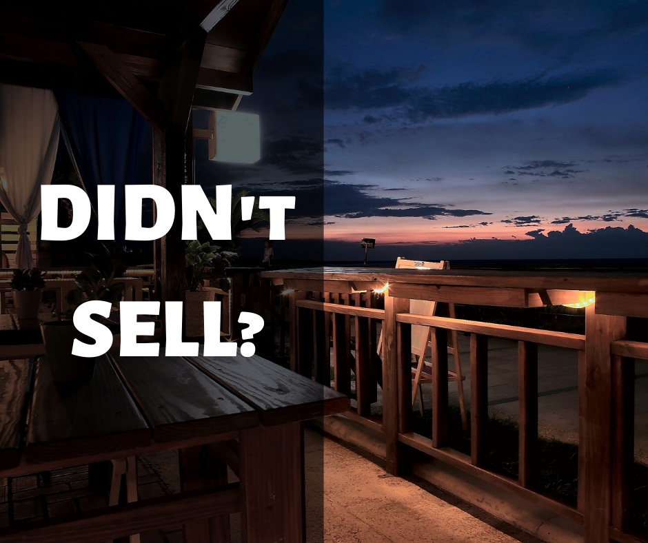 How to Sell a House that Didn't Sell